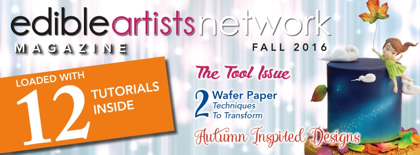 Edible Artist Magazine- Fall 2016
