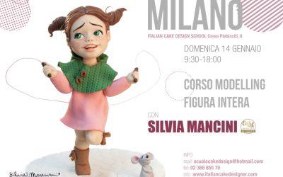 MILANO, 14 GENNAIO, CORSO MODELLING FIGURA
