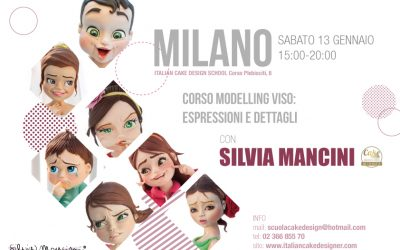 MILANO, 13 GENNAIO 2018, CORSO MODELLING VISO: dalle espressioni ai dettagli
