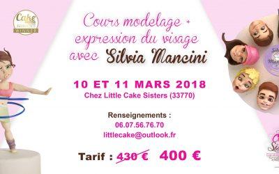 BORDEAUX, 10 Mars Cours Modelage / 11 Mars Cours Expression du Visage