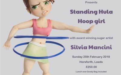 LEEDS, @Zoe's Fancy Cakes, 25th February 2018, Hula hoop girl class FULLY BOOKED