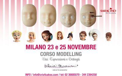 MILANO, CORSO MODELLING VISO, ESPRESSIONI e DETTAGLI