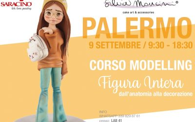 PALERMO, SEPTEMBER 9th, FEMALE FIGURE MODELLING CLASS