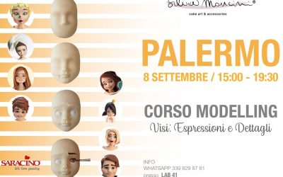 PALERMO, SEPTEMBER 8th, FACIAL EXPRESSION MODELLING CLASS