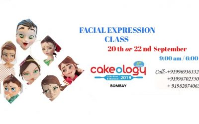 CAKEOLOGY 2019, BOMBAY- 20th/22nd SEPTEMBER