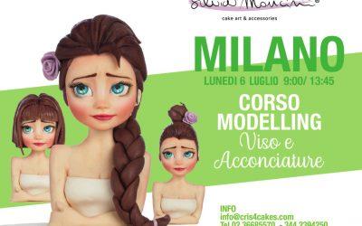 MILANO, CORSO MODELLING VISO ed ACCONCIATURE
