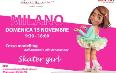 "MILANO, CORSO MODELLING FIGURA  ""Skater Girl""    –       14 Marzo 2021"