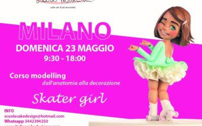 """MILANO, CORSO MODELLING FIGURA  """"Skater Girl""""    –       23 Maggio 2021"""