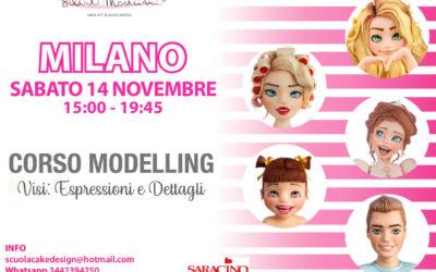 MILANO, Corso Modelling VISO, Espressioni e Dettagli   –         13 Marzo 2021