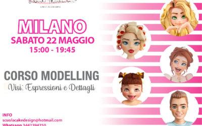 MILANO, Corso Modelling VISO, Espressioni e Dettagli   –         22 Maggio 2021